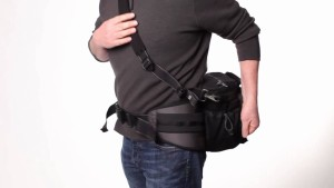 Can be used on the waist or as a shoulder bag